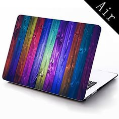 Colorful Retro Board Pattern Full-Body Protective Plastic Case for 11-inch/13-inch New MacBook Air – USD $ 25.99