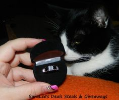 Onyx Diamond Ring Giveaway!!!! Hurry... ends 1/13!!! Enter at http://deliciouslysavvy.com