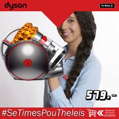 Σκούπα #Dyson #Cinetic #Big #Ball 2 #Multifloor χωρίς συντήρηση φίλτρων, χωρίς έξοδα για σακούλες και χωρίς απώλεια απορροφητικότητας. Dyson Cinetic Big Ball 2 Multifloor #Ηλεκτρική #Σκούπα   ΑΠΟΚΤΗΣΤΕ ΤΗΝ:  http://koukouzelis.com.gr/-/9504-dyson-cinetic-big-ball-2-multifloor.html