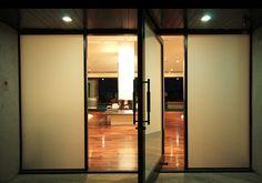Globus Builder - modern - entry - los angeles - by Globus Builder Cool Doors, Unique Doors, Entrance Design, Door Design, Masonite Interior Doors, Frosted Glass Window, Contemporary Interior Doors, Bookcase With Glass Doors, Modern Entry