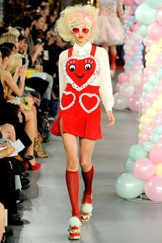 Meadham Kirchhoff fun with hearts x