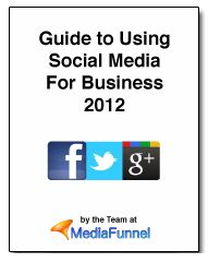 Your customers and employees are social, so your business has become social. http://mediafunnel.com/