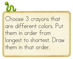 Great non standard measurement ideas aligned to the common core Measurement Kindergarten, Math Measurement, Preschool Math, Teaching Kindergarten, Math Classroom, Math Activities, Teacher Problems, Math Problems, Interactive Math Journals