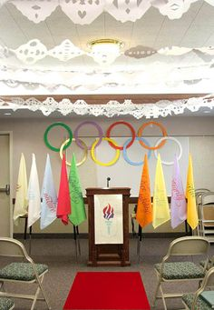 The Winter Olympics are here again! What better theme for a New Beginnings? You can talk about going for gold—setting goals and accomplishin. Young Women Lessons, Young Women Activities, Youth Activities, New Beginnings Young Women, Yw In Excellence, Lds Youth, Going For Gold, Lds Church, Church Ideas