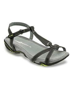 Look at this #zulilyfind! Black Shasta Sandal by J-41 Footwear #zulilyfinds