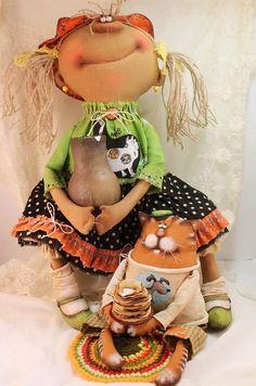 Татьяна Козырева. Авторская кукла .