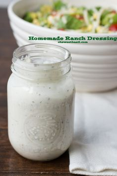 ... !) | Recipe | Homemade Ranch, Homemade Ranch Dressing and Dressing
