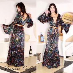 AMANDICA INDICA... e dá dicas!!!: Vestido da semana by estilista Vinicius Caspar da ...