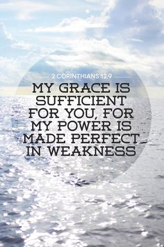 "MWF ladies: ""His grace is sufficient for me."" I will always think of you when I see this scripture. That was one of the most beautiful MWF days."