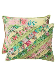 A colorful element to liven up your home, our Festival cushion is just what the doctor ordered to shake off what's left of winters chill. Made in an amazing blend of our finest prints in ruffled strips and complemented with two prints on the reverse for a cool country look.