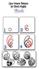 Bildergebnis für zentangle paso a paso Zentangle Drawings, Doodles Zentangles, Doodle Drawings, Doodle Designs, Doodle Patterns, Zentangle Patterns, Tangle Doodle, Zen Doodle, Doodle Art