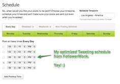How to share your Tweets at optimal times: Followerwonk and Buffer team up