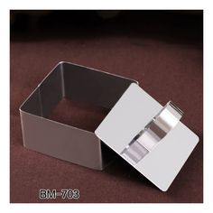 Beowulf mousse cake ring stainless steel ring mold cut biscuits mold cake mold bakeware choice Square ring