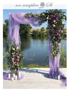 how to drape wedding backdrops Lavender Wedding Theme, Purple Wedding, Wedding Colors, Wedding Stage, Diy Wedding, Dream Wedding, Wedding Day, Wedding Engagement, Wedding Ceremony Decorations