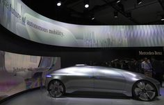 """Connected Cars at CES 2015:  Audi, Mercedes-Benz and VW all showed demos of automated car technology, from driverless or """"piloted"""" cars, to smartwatch apps..."""