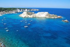 Just above the heel of Italy is a divers' paradise known as Isole Tremiti