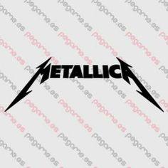 Pegame.es Online Decals Shop  #band #rock #heavy #metallica #vinyl #sticker #pegatina #vinilo #stencil #decal