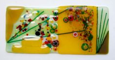 Mixed Glass Collage by Julie