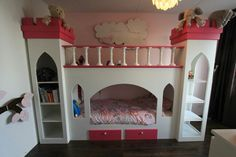 Home made Prinsessen bed