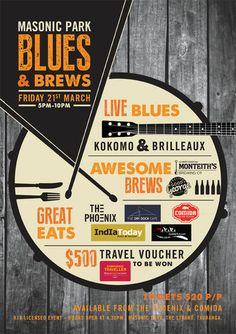 Masonic Park Blues & Brews Festival