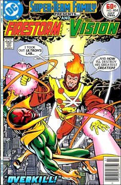 Super-Team Family: The Lost Issues!: Firestorm and The Vision