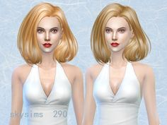 Sims 4 CC's - The Best: Hair by Butterflysims