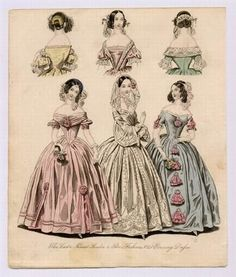 Mothball Fleet: Romantic Era Hair Styles (1838)