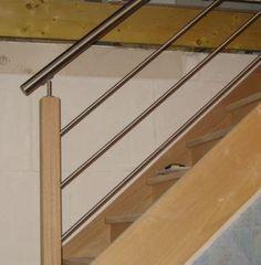 escalier moderne on pinterest metals stairs and hidden. Black Bedroom Furniture Sets. Home Design Ideas