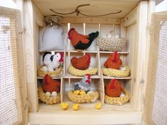 Hen house by Lalinda