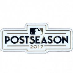 d8293e464f2 This is the patch for the 2017 MLB Post Season logo as worn on-field during  the 2017 MLB playoffs. Designed for commemorative