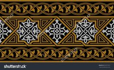 Find Arabic Floral Seamless Border Traditional Islamic stock images in HD and millions of other royalty-free stock photos, illustrations and vectors in the Shutterstock collection. Islamic Decor, Islamic Art, Ceramic Tile Backsplash, Deco Paint, Painting Patterns, Textile Prints, Mandala Art, Pattern Art, Cool Artwork