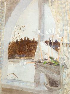 "Winifred Nicholson, ""Winter-Fishbourne"" 1931-2, Oil on canvas"