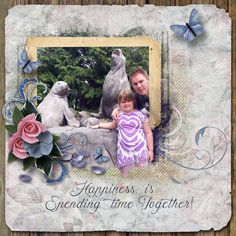 Happiness Is by Janet. Kits used: Love Blooms Here Too http://scrapbird.com/designers-c-73/k-m-c-73_516/lora-speiser-c-73_516_512/love-blooms-here-too-page-kit-p-15944.html AND Artblends Just Natural Template http://scrapbird.com/designers-c-73/k-m-c-73_516/lora-speiser-c-73_516_512/artblends-just-natural-1-page-template-plus-p-15950.html