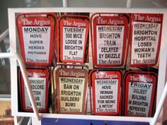 the local newspaper for brighton & hove is the argus.