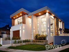 House facade ideas | House facades, Concrete houses and Facades on