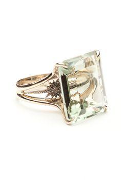 H. Stern Highlight Star Prasiolite Ring by H. Stern from Amanda Pinson Jewelry
