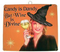 Wine Fun for Halloween