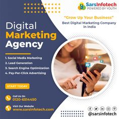 Let your business take you places through online portals. Let the Digital Marketing Services help you with your promotion and other needful aspects. If you still think you need help, our experts @ www.sarsinfotech.com will help you through. #digitalmarketing #marketing #socialmediamarketing #socialmedia #business #marketingdigital #branding #seo #instagram #onlinemarketing #advertising #digital #entrepreneur #contentmarketing #marketingstrategy #digitalmarketingagency #marketingtips #follow Best Digital Marketing Company, Digital Marketing Services, Online Marketing, Content Marketing, Social Media Marketing, Pay Per Click Advertising, Web Technology, Best Web Design, Web Design Company