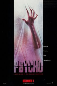 Psycho (1998) movie #poster, #tshirt, #mousepad, #movieposters2