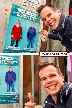 Petite souris Joël en mode affichage en Suisse Romande. #publicité #marketing #grandetaille #suisse