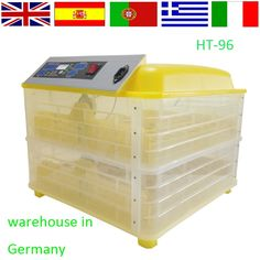 59.00$  Buy now - http://aligg4.worldwells.pw/go.php?t=32704844760 - 2016 Newest model Full Automatic chicken 96 eggs incubator /mini Incubator/egg hatching machine220 v 59.00$