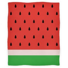 Watermelon blanket