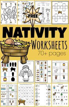 Free Printable Christmas Worksheets, Christmas Worksheets Kindergarten, Preschool Christmas Activities, Homeschool Kindergarten, Preschool Learning, Toddler Preschool, Math Activities, Math Literacy, Literacy Skills