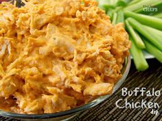Sous Chefs: Buffalo Chicken Dip - It's perfect for those football games.