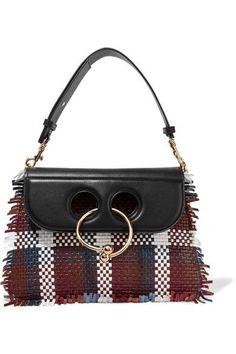 JW Anderson - Pierce medium woven leather shoulder bag. Borse ... 259d26020d1