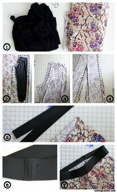 How to Sew an Easy Pair of Knit Pants  ||  www.sewingrabbit.com 2 of 2