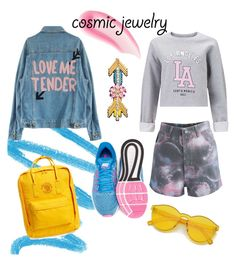 """""""CosmicJewelry"""" by kate-dovgal on Polyvore featuring Chantecaille, Happy Embellishments, NARS Cosmetics, NIKE, Fjällräven, Chicwish and Miss Selfridge"""