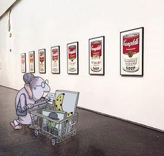 """Nueva vida. """"No esperaba que el uso de las redes sociales se pudiera convertir en algo profesional. Me sorprendió"""", dijo además el brasileño, quien pudo dejar su viejo trabajo para dedicarse completamente a la ilustración."""