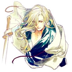 Narses the dishevelled swordsman, Arslan senki fanart, from INNER CHORUS