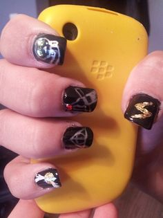 Harry Potter nails! - Nail Art Gallery by NAILS Magazine